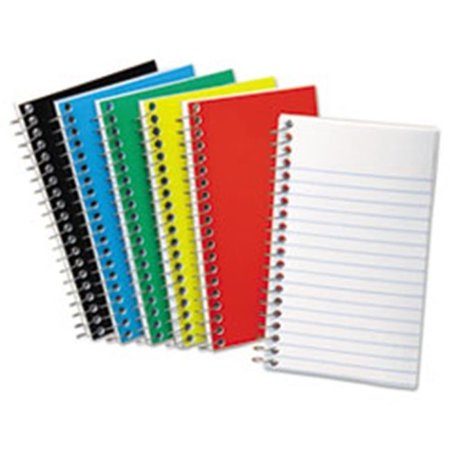 Wirebound Pocket Memo Book, Narrow, 3 x 5, White - 50 Sheets - image 1 of 1