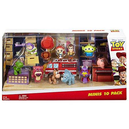 Disney Pixar Toy Story Deluxe Mini Figure Set - 10