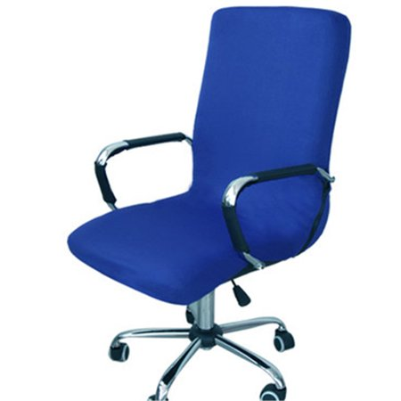 Office Swivel Computer Chair Seat Cover Side Zipper Design