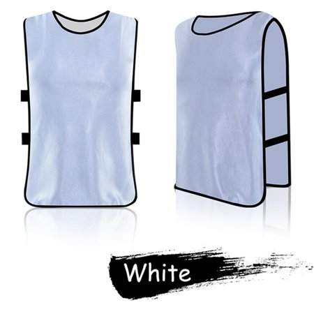 Adult/Kids Football Basketball Team Sports Training Jerseys Vest Childs Basketball Jersey