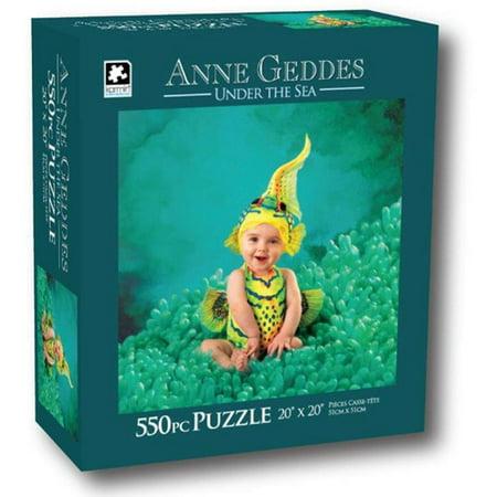 Anne Geddes 550-Piece Puzzle, Baby Seahorse