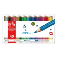 Caran d'Ache, Fancolor Water-Soluble Colored Pencils, 40 Colors