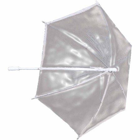 Clear Plastic Parasol Adult Halloween Accessory for $<!---->