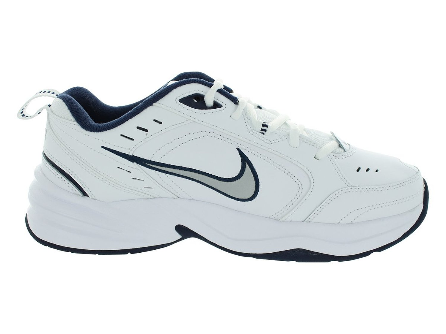 Nike Air Monarch 4 Medium Width Mens (11.5) WHITE/METALLIC SILVER -  Walmart.com