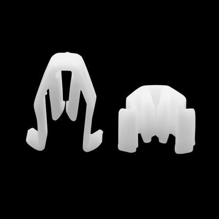 30pcs Universal White Car Console Retainer Auto Dashboard Instrument Clip - image 1 of 2