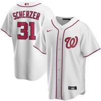 Max Scherzer Washington Nationals Nike Youth Home 2020 Replica Player Jersey - White