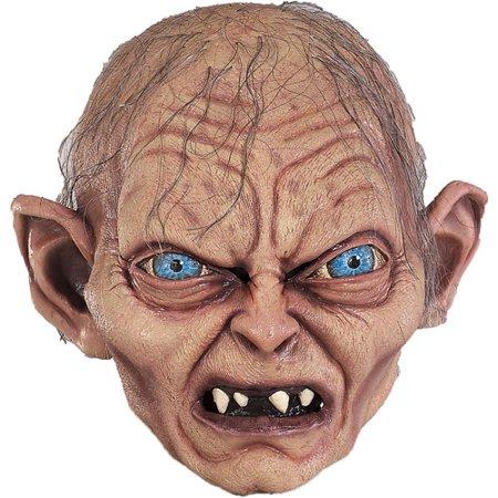 Gollum Adult Halloween Collectors Latex Mask Accessory](Latex Bird Mask)