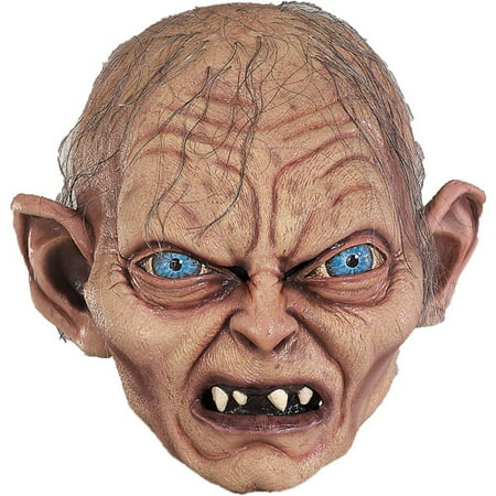 Gollum Adult Halloween Collectors Latex Mask Accessory - Professional Foam Latex Halloween Masks