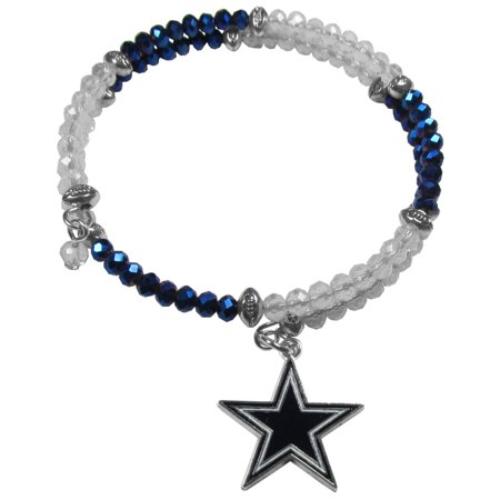 NFL Dallas Cowboys Crystal Bracelet - Dallas Cowboys Charm Bracelet