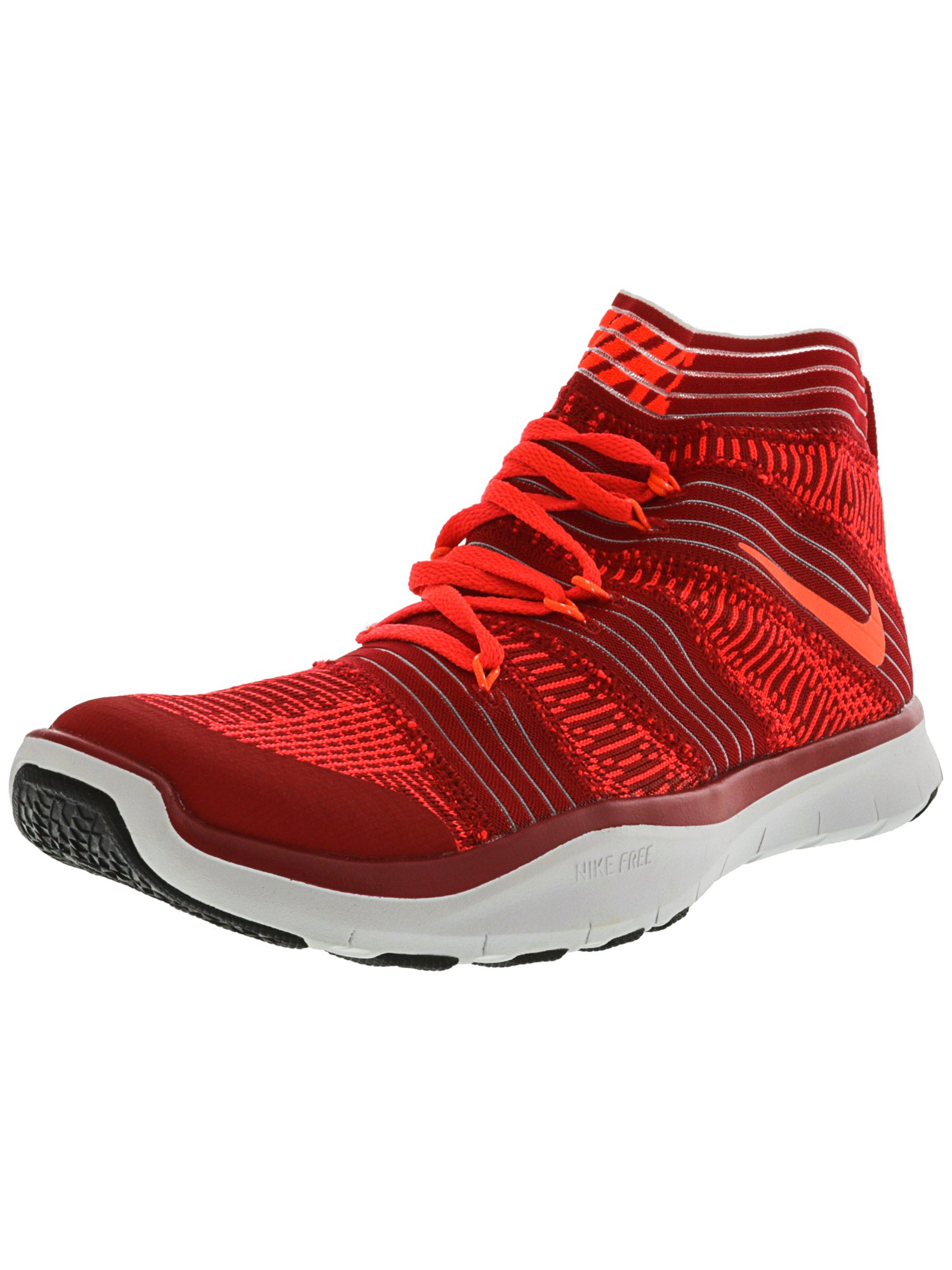 e68f882687 ... low price nike mens free train instinct 2 university red hyper orange  ankle high training shoes