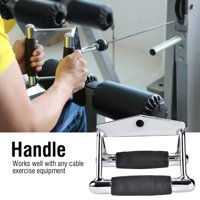 Hilitand Chinning Bar, Chinning Triangle Bar,Durable Steel Chinning Triangle Bar Handle Gym Training Exercise Cable Attachment