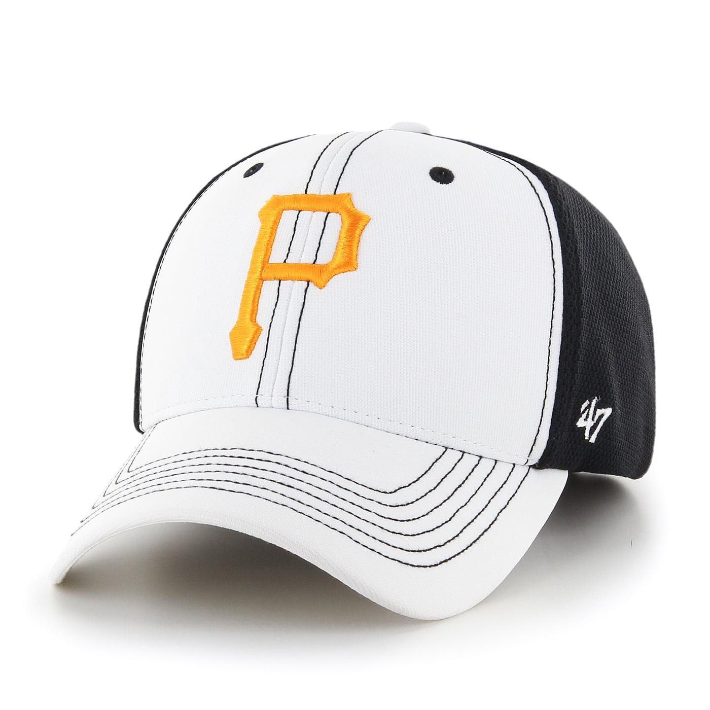 "Pittsburgh Pirates 47 Brand MLB ""Cooler MVP"" Structured Adjustable 2 Tone Hat"