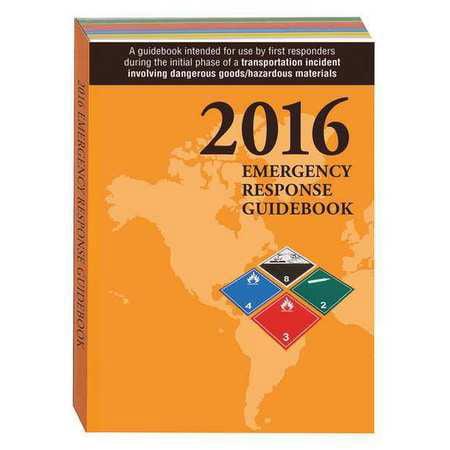LABELMASTER ERG0022 2016 Emergency Response Guide, Std. ()