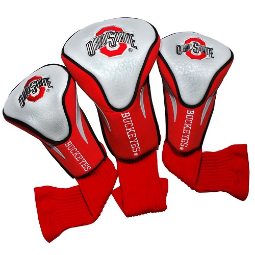 Team Golf NCAA Ohio State 3 Pack Contour Head Covers
