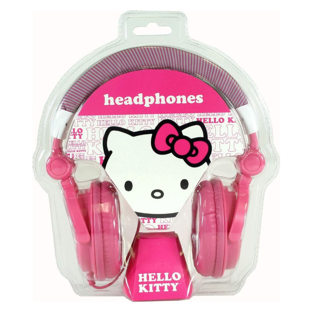 Hello Kitty Oversized Over-The-Ear DJ Headphones