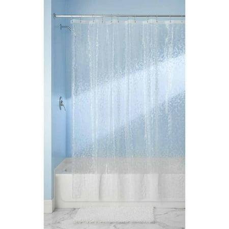 Interdesign Mini Pebblz Peva Decorative Shower Curtain Liner