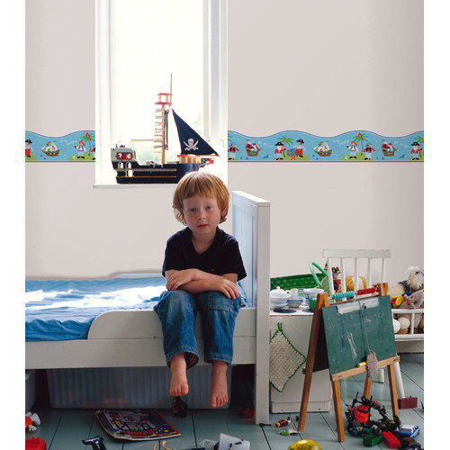 WallPops! Fun4Walls Pirates Wall Mural