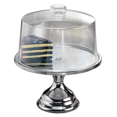 American Metalcraft 19SET Cake Stand and Cover Set ()
