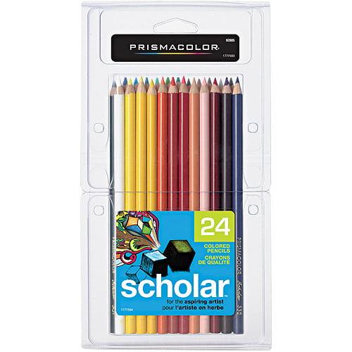 Prismacolor Scholar Colored Pencils, 24 Pack