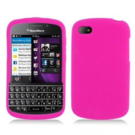 Silicone Skin Case for Blackberry Q10 - Pink Blackberry Playbook Silicone Case