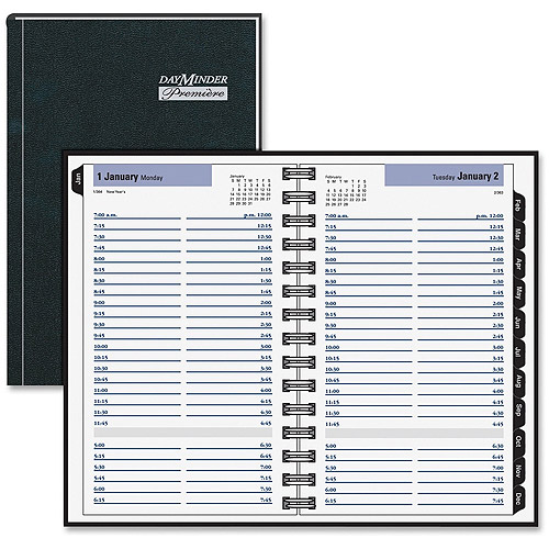At-A-Glance DayMinder Premiere Daily Appointment Book