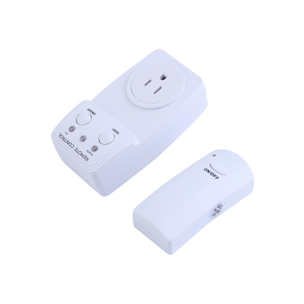 Wireless Remote Control Ac Power Outlet Us Plug Switch For Small