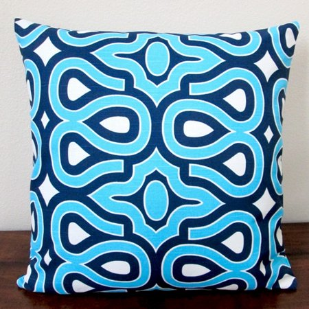 Artisan Pillows Hgtv Home Turtle Shell Lapis Indoor Pillow Cover