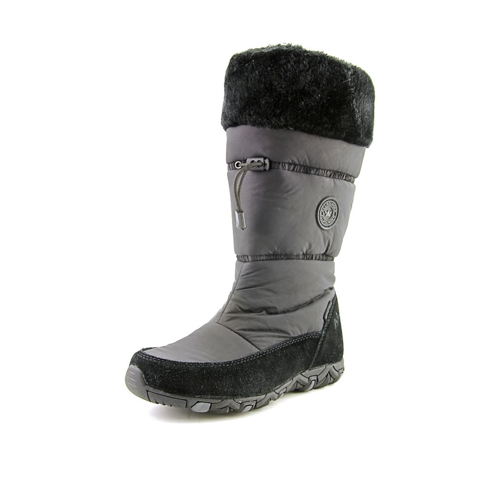 Allrounder By Mephisto Waska Women Round Toe Synthetic Black Snow Boot by Allrounder By Mephisto