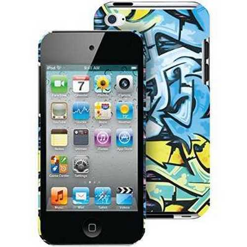 Merkury Innovations iPod touch 4 Case, Blue Wild