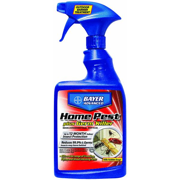 bayer advanced home pest plus germ killer insect killer - walmart