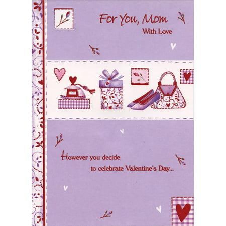 Designer Greetings Perfume, Purse, Shoes Die Cut Windows: Mom Valentine's Day (Designer Handbags Shoes)