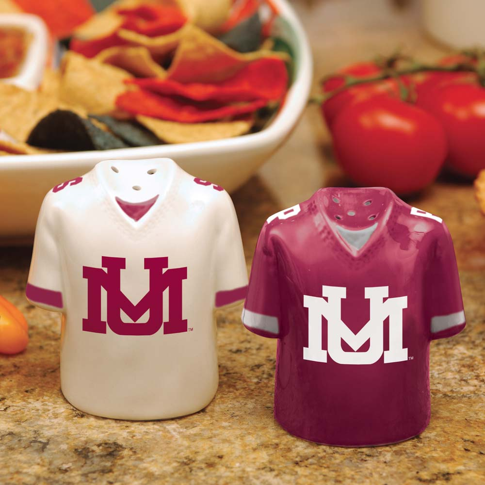 Montana Ceramic Jersey Salt and Pepper Shakers
