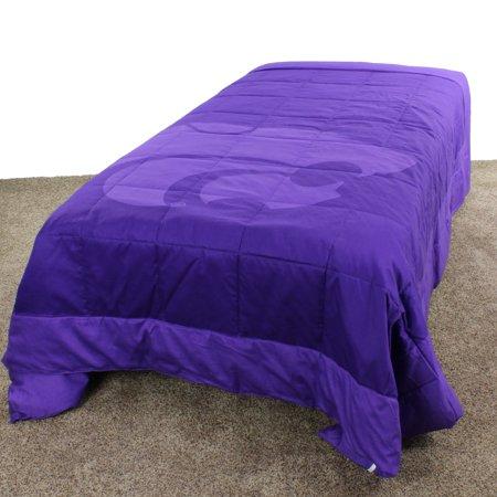 Kansas State Wildcats 2 Sided Reversible Comforter, 100% Cotton Sateen, 80