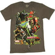 Marvel vs Capcom 3 Team Combo T Shirt Sheer