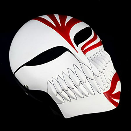 Cosplaywho Venetian Mardi Super Bleach Ichigo Hollow Mask (Bleach Ichigo Full Hollow Mask)