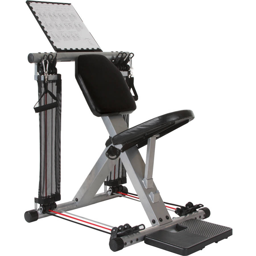 Flex Force 50 In 1 Resistance Chair Gym Complete Workout