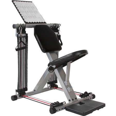 Flex Force 50 in 1 Resistance Chair Gym, Complete Workout System, Home