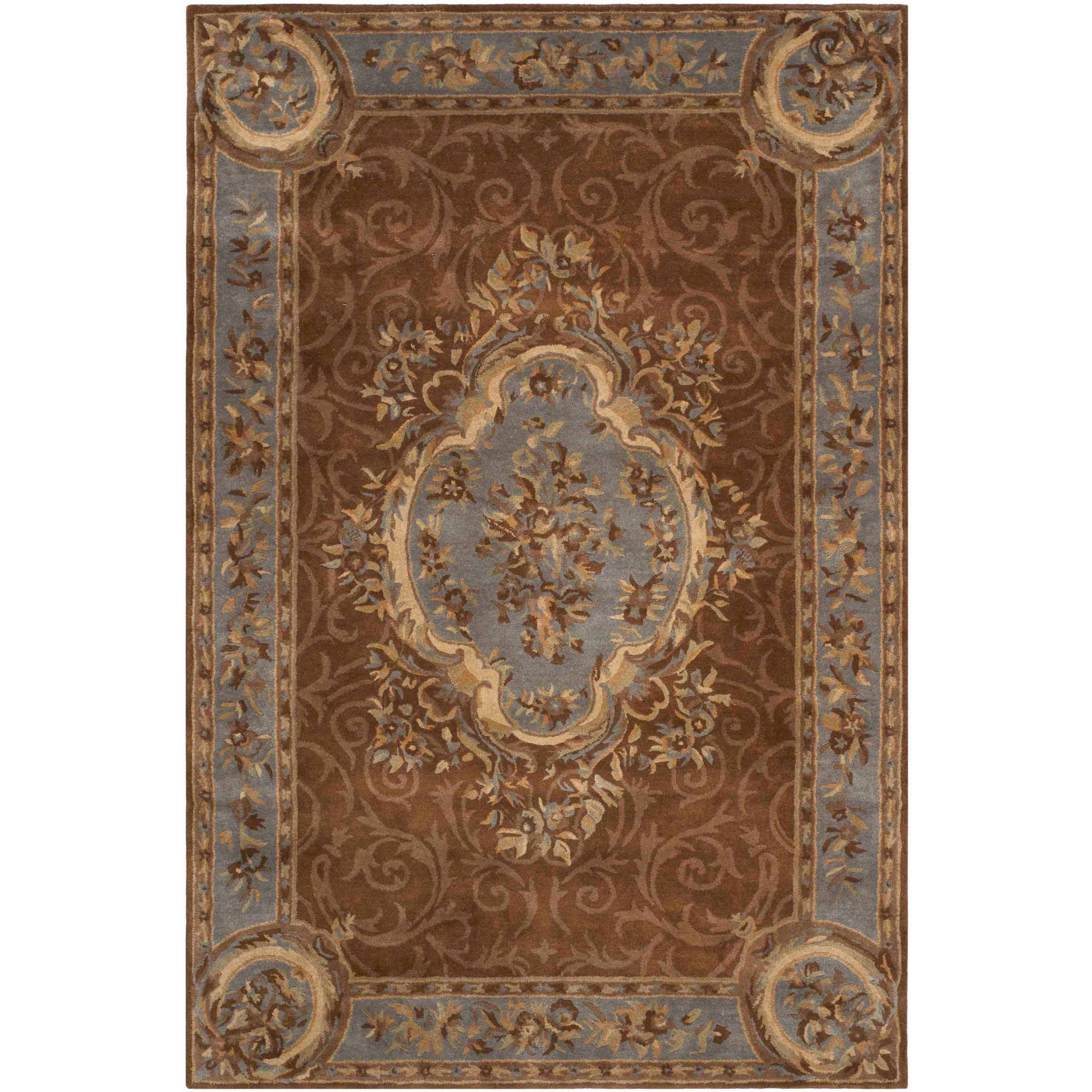 Safavieh Empire Ormonde Hand-Tufted Wool Area Rug, Blue/Brown