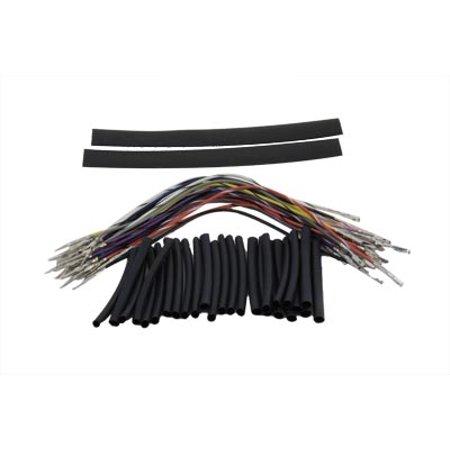 handlebar wiring harness 8 extension kit for harley. Black Bedroom Furniture Sets. Home Design Ideas