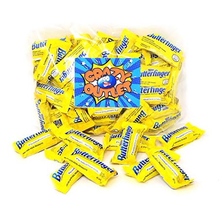Nestle Butterfinger, Fun Size, Chocolate Bars, 1 pound bag](Nestle Halloween)