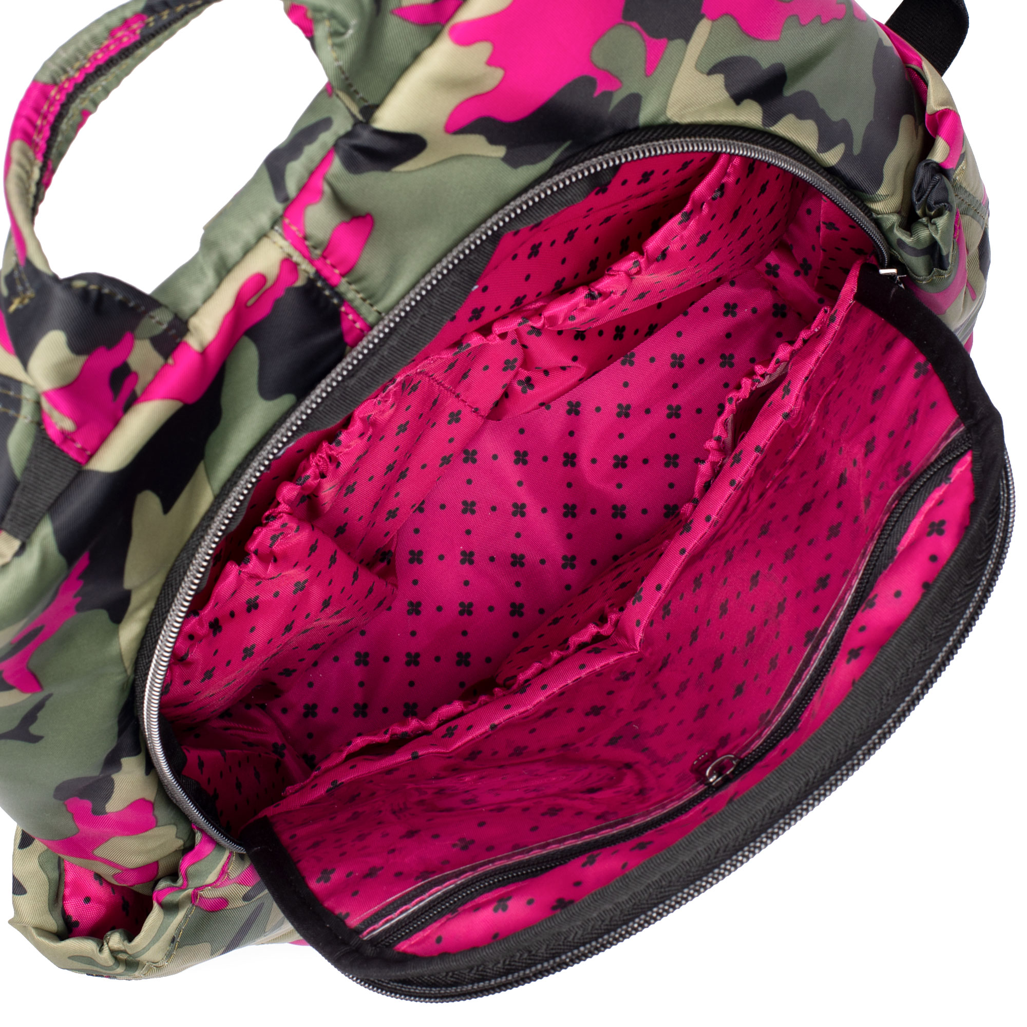Camo Orchid Small Lug Hatchback Backpack 3