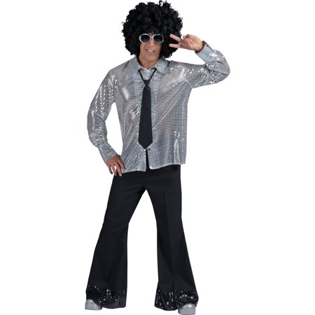 Morris Costumes 70'S Party! Poly-Cotton Disco Pants - 70 Theme Party Costume Ideas