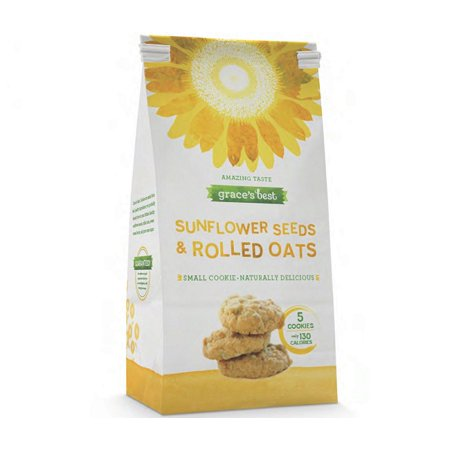 Graces Best Sunflower Seed Cookies 12 oz - A Kansas