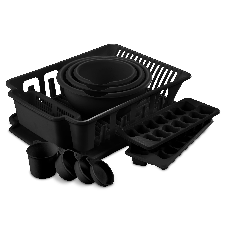 Sterilite 11 Piece Kitchen Set, Black