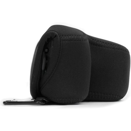 MegaGear MG510 Olympus PEN E-PL9, E-PL8, E-PL7 Ultra Light Neoprene Camera Case - Black - image 3 de 5