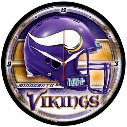 NFL - Minnesota Vikings Round Clock