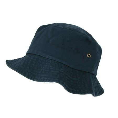 87b2c9c918adb7 Sportsman Cotton Twill Summer Packable Travel Bucket Hat - image 1 of 1 ...