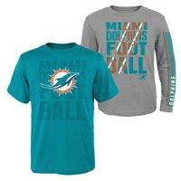 6617d8c1 Miami Dolphins T-Shirts - Walmart.com