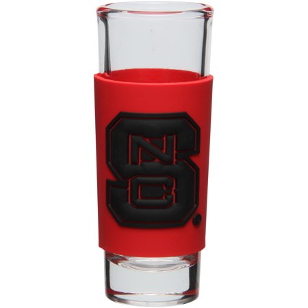 NC State Wolfpack 2oz. PVC Wrap Collector Glass - No -