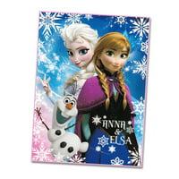 Disney Frozen Elsa, Anna, & Olaf Cotton Blanket
